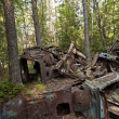 Car Dump in Kirkoe Mosse — Foto Stock