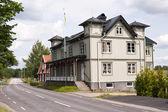 дом в швеции — Стоковое фото