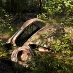 Car Dump in Kirkoe Mosse — Stock Photo #29740683