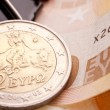 Stock Photo: Greek Euro Coin