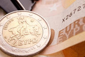 Greek Euro Coin — Stock Photo