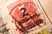 Inflation Stamp — Stock Photo