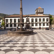 Square on Madeira — Stock Photo