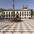 Stock Photo: Square on Madeira
