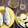 Grilled Fish — Foto de stock #29877079