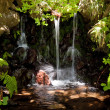 Stock Photo: Waterfall on Madeira