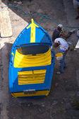 Рыбацкая лодка на Мадейре — Стоковое фото