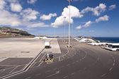 Aeropuerto de madeira — Foto de Stock