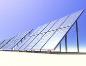 太阳能 — 图库照片