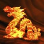 Dragon — Stock Photo #30676321