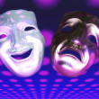 Stockfoto: Theater Masks