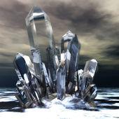 Kryształy — Zdjęcie stockowe