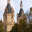 Stock Photo: Castle of Schwerin