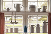 Kitchen Window — Stock Photo