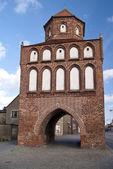 Gate in Ribnitz-Damgarten — Stock Photo