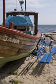 Рыболовное судно — Стоковое фото