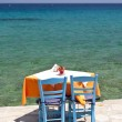 Tavern in Kokkari, Samos — Stock Photo