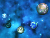 Cosmic Visualization — Stock Photo