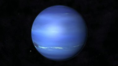 Animation of the Planet Neptune — Wideo stockowe