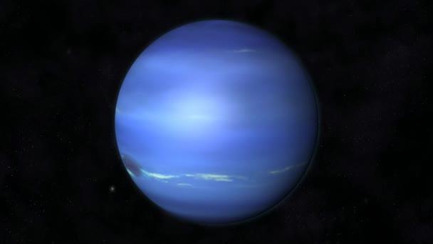 Animation des Planeten Neptun ? Stockvideo ? 3quarks #32599641