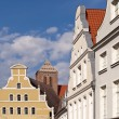 Old town of Wismar in Germany — Stock Photo