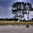 Beach of Ahrenshoop in Germany, HDR — Stock Photo