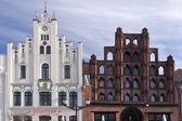 Building in Wismar — Stock Photo