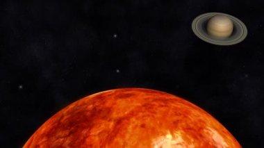 Solar System — Stock Video