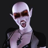 Gothic Female — 图库照片