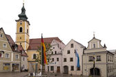Na cidade velha de neustadt, Alemanha — Fotografia Stock