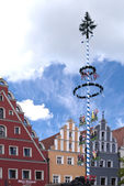 In the old Town of Weiden, Germany — Stock Photo