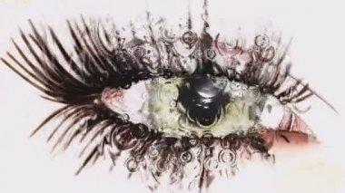 Eye Animation — Stock Video