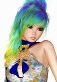 женский фея — Стоковое фото