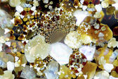 Kaleidoscopic sand grains — Stock Photo