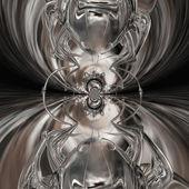 Kaleidoscopic Ant — Stock Photo