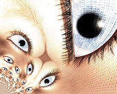 Eyes — Stock Photo
