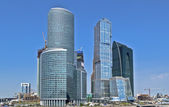 City business center Moscow — Stock Photo