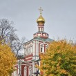 Novodevichy Convent. Moscow. uspensky church — Stock Photo #14922443