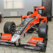 Foto Stock: Race car FormulOne in museum