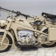 Stock Photo: Germmotorcycle of World War II