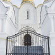 Entrance to Uspensky cathedral city of Vladimir — Stock Photo #19043267