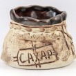 Capacity for sugar, a sugar bowl. — Stok fotoğraf