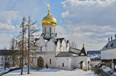 Savvino-storozhevsky monastery in the spring — Foto Stock