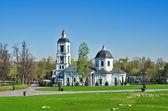 Church of the Blessed Virgin. Estate Tsaritsyno — Stock Photo