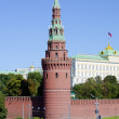 The Moscow Kremlin. — Stock Photo