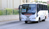 "Turkish suburban express bus ""Kemer-Antalya"" — Stock Photo"