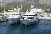Yachts in the port — Photo