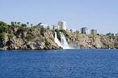 Lower Duden Waterfall - Antalya, Turkey — Stock Photo