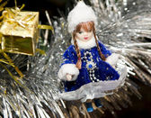 Toy Snow Maiden — Stock Photo