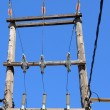 Power line — Stock Photo